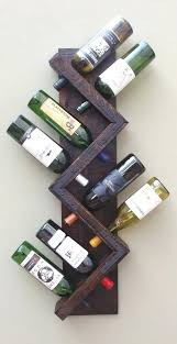 8 bottle wine rack wine rack wall mounted rustic wine rack wood wine bottle acacia 8