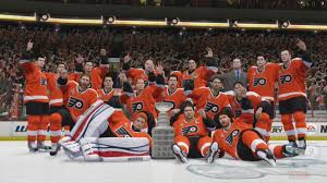 flyers stanely cup nhl 14 philadelphia flyers stanley cup championship celebration