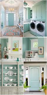 This beautiful light blue-gray paint color is so versatile! Interiors and  exteriors,