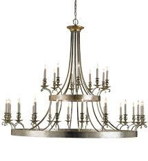 currey company 9582 lodestar 30 light chandelier with granello silver leaf antique undefined