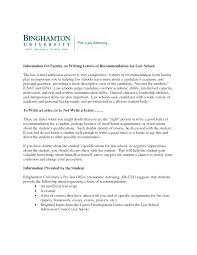 Ideas Collection Example Law School Recommendation Letter For