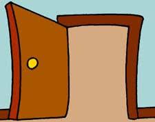 open and closed door clipart. Open And Shut Door Clipart Closed