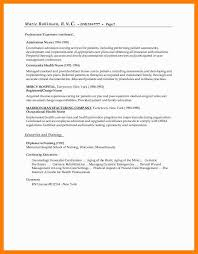 Professional Objective For Nursing Resume Twnctry