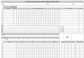Cricket Score Card Format Image Result For Cricket Score Sheet Cricket Score