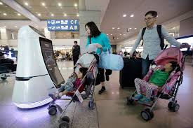 incheon south korea robots will start roaming south korea s largest airport this summer helping travelers find their boarding gates and keep its floors