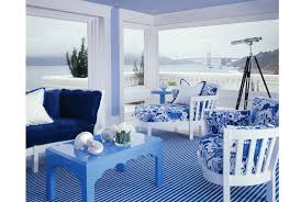Color Of The Week Bright Navy  House Beautiful Bright And NavyCobalt Blue Home Decor