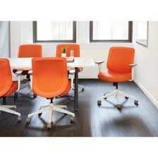orange office furniture. Orange Max Task Chair, Mid Back, White Frame,Orange,hi-res Office Furniture I