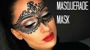 diy glam masquerade mask using only