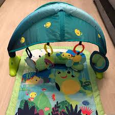 Baby Play Mat Light Up Bright Starts Light Up Lagoon Gym Excellent Depop