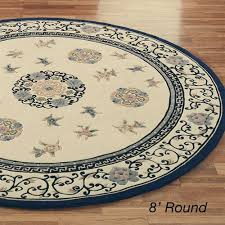 oriental medallion round rug