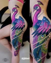 значение татуировки павлин фото и эскизы тату павлин Rustattoo
