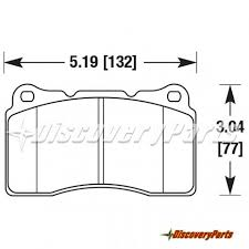 Carbotech Ct1001a Brake Pads Brembo Caliper 16mm Pads