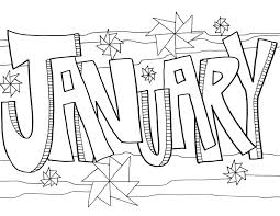 January coloring pages that parents and teachers can customize and print for kids. January Coloring Pages Best Coloring Pages For Kids