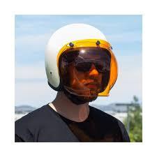biltwell bubble visor amber