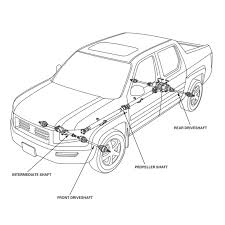 A longer shaft experiences more torque so often a long driveshaft may be posed of two pieces these are types of drive shafts have a driveshaft support