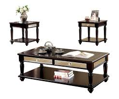 large size of espresso end table with drawers round coffee piece sets under and tables warehouse