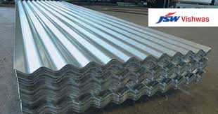 galvanised corrugated sheet profile