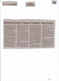 Membuat surat perjanjian kerja (spk) atau kontrak kerja menjadi suatu kewajiban bagi karyawan baru. Kontrak Kerja Tenaga Honorer Satu Pintu Media Indonesia 9 Flickr