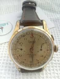 pobeda mens watch vintage mens watch wind up mens watch simple vintage dreffa chronograph men watch landeron 151 from 1960 s 36mm