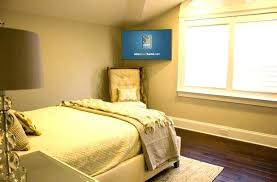 ideal tv height bedroom ideal height for wall mounted mount in bedroom ideal tv mounting height