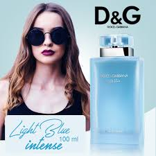 Dolce And Gabbana Light Blue Intense Eau De Toilette D G Light Blue Eau Intense By Dolce Gabbana For Women Eau De Parfum Spray 100 Ml Maqaami Com