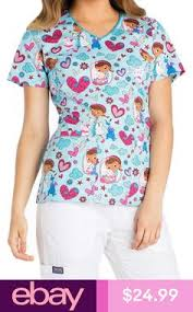 Scrub Top Patterns Unique Kawaii From Hawaii Sufl Town White Scrub Top M Scrub Top Patterns