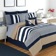 classic bedding sets classic stripe 4 piece white blue and khaki comforter set classic car bedding