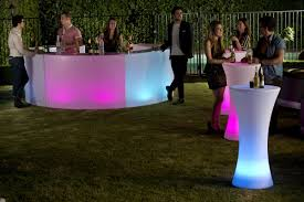 Glow Furniture Coastal Glow Furniture Led Illuminated Party Hire Sales