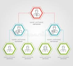 Business Chart Images Business Hierarchy Hexagon Chart Infographics Corporate