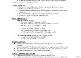 Nurse Resume Sample registered nurse resume sample Josemulinohouseco 53