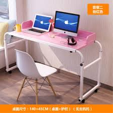 bedroomeasy eye rolling office chairs. Simple Removable Bed Double Laptop Desktop Computer Desk Lazy Cross-bed Nursing Lift Small Table Custom-made 1.4M Pink Package Two (no Host) Bedroomeasy Eye Rolling Office Chairs