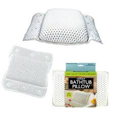 bathtub pillow non slip bathtub pillow with suction cups bathtub pillow