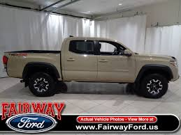 2017 Used Toyota Tacoma TRD Off Road Double Cab 5' Bed V6 4x4 ...