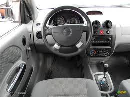 2004 Chevrolet Aveo LS Hatchback Gray Dashboard Photo #57965561 ...