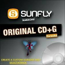 Sunfly Karaoke Cdg Disc Sf304 Sunfly Chart Hits 304 June