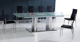 Retro Metal Kitchen Table Metal Glass Kitchen Table Sets Modern Dining Room Tables