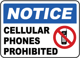 No Cell Phone Signs Cell Phone Signs Turn Off Cell Phone Signs