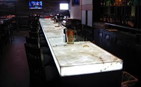 backlit onyx bartop led light panel