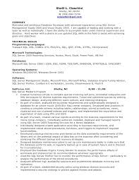 ... Marvellous Inspiration Pl Sql Developer Resume 14 Server Database Sample  ...