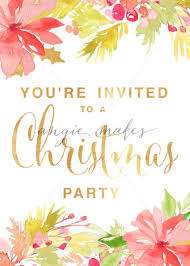 holiday party invitation template christmas party invitation template print this christmas party