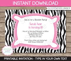 How To Make A Sleepover Invitation Sleepover Party Invitation Under Fontanacountryinn Com