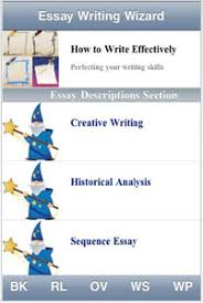 essay writing wizard iphone app is a must have for students