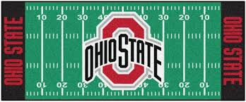 photo sports fans sports fans can bring the team colors front and center with a team logo area rug this adaptable runner rug would look great in front of
