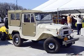 Chassis FJ40-35802, engine 2F-041386. 1965 Toyota Land Cruiser FJ40 ...