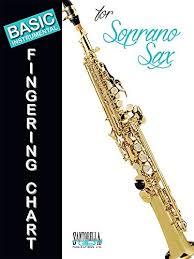 B Flat Soprano Sax Finger Chart Basic Fingering Chart For Soprano Sax 9781585609109 Books