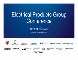Electrical products group conference