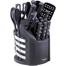 Farberware Stamped Stainless Steel 15Piece Cutlery Set  WalmartcomWalmart Kitchen Knives