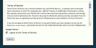 terms of service using scrolltext keyword