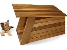 plans to build wooden dog house
