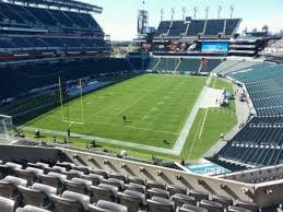 Lincoln Financial Field Section M13 Row 12 Home Of